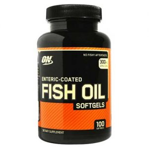 Optimum Nutrition Fish Oil Softgels