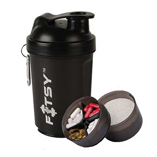 Protein Shaker Compartment: Top 10 Best Protein Shaker Bottles In India 2018