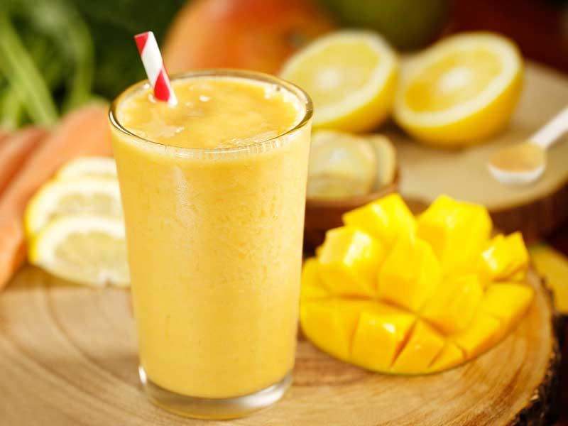 Orange Mango Creamy Shake