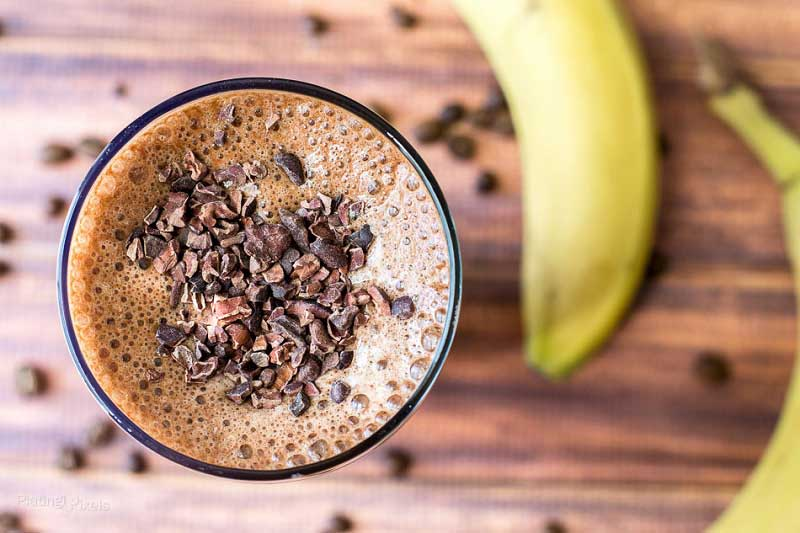 Yummy Coffee Banana Energy Boosting Smoothie