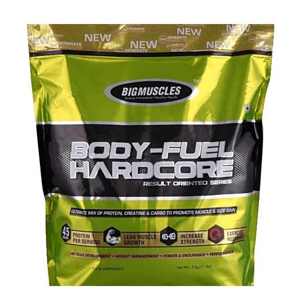 Buy Big Muscles Body Fuel Hardcore Online India Best Price