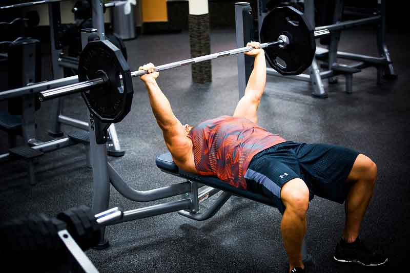 Best Chest Exercises Barbell Bench Press