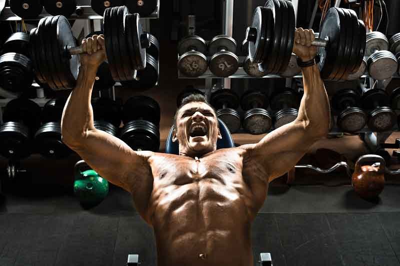 Best Chest Exercises Incline Dumbbell Press