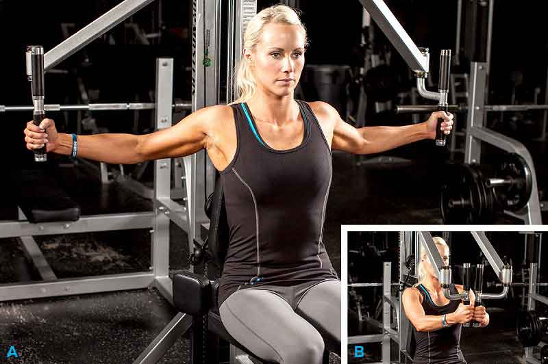 Best Chest Exercises Pec-Deck Machine