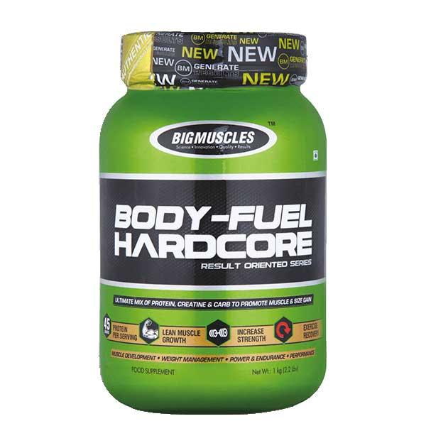 Buy Big Muscles Body Fuel Hardcore Online India @ Best Price