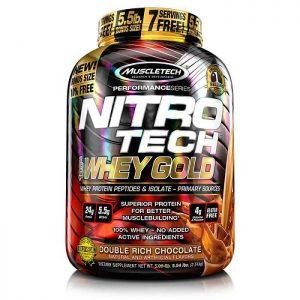 Muscletech's NitroTech Whey Gold