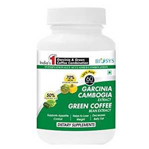 Biosys Garcinia Green Coffee Garcinia Cambogia Maximum Hca