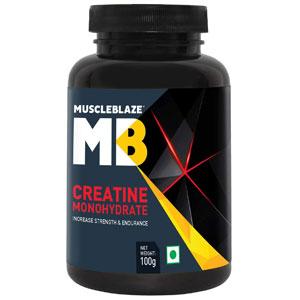 MuscleBlaze Creatine Monohydrate Powder