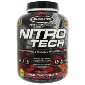 MuscleTech Nitro Tech Performance Series Whey Protein