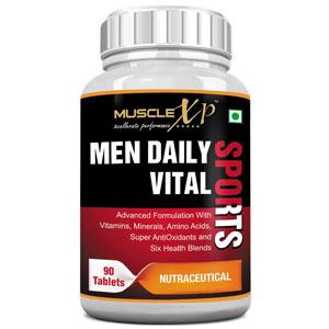 MuscleXP Multivitamin Men Daily Sports