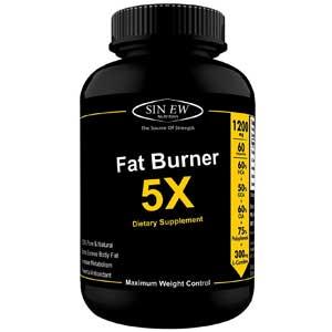 Sinew Nutrition Natural Fat Burner 5X