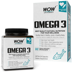 Wow Omega-3 Fish Oil